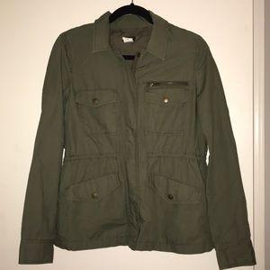 Jcrew green jacket